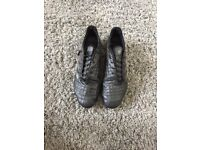 Black Adidas rugby boots size 10