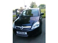 Superb full service history low mileage metallic Black Vauxhall Zafira Design for sale
