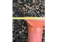 Tapered drain hoper open cover to soil pipe