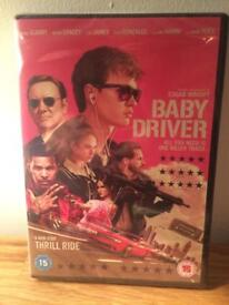 Baby Driver DVD - brand new and sealed