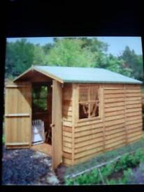 7x10 overlap shed