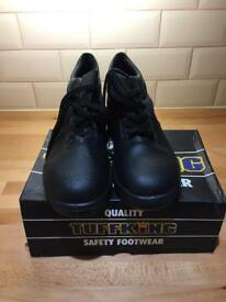 Tuffking steel toe cap boots size 9