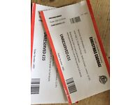 Christmass Carnage boxing tickets