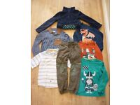 Boy's clothes age 5-6 years