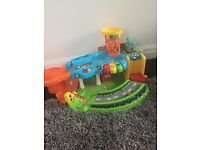 VTech toot toot train station and garage