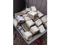 Free garden bricks