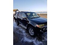 58 plate mitsubishi l200 animal (Price drop) no vat!!!