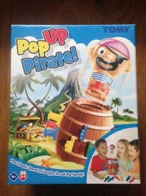 Pop Up Pirate & Awesome Animals (dinosaurs tub)