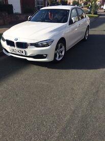 BMW 3 Series 2012 Saloon White Auto