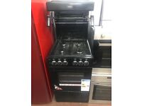 50CM BLACK CALOR EYE LEEVEL GAS COOKER *** NOT USED***