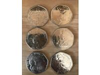 Beatrix potter coin collection
