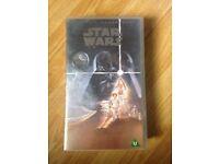 Star Wars (1977) Original Release VHS