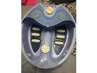 Foot massager foot spa with accessories!