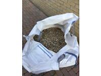 Pebble stones at Romford