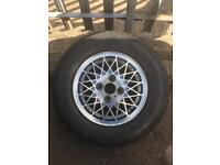 Alloy wheel with tyre all brand new Vauxhall