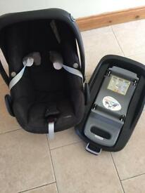 Maxicosi pebble with isofix