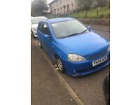 Vauxhall Corsa 1.2 16 valve 04 plate mot till Feb. Been modified.