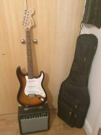 Squier strat by fender affinity Guitar(collection only)