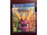 Spyro reignited trilogy PS4 £15 ono