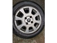 Volvo v40 2003 195/60/15 alloy wheel