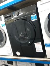 Beko black 7kg 4kg washer dryer. £320. new/graded. 12 month guarantee