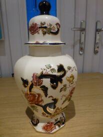 Masons Ironstone Blue Mandalay Tokyo vase