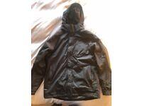 TOG 24 Mens Ski Jacket - Very Good Condition - Black/Charcoal Colour - Medium