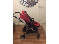 Silver Cross Wayferer Complete Travel System (incl. ISO Fix Car Base)