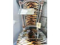 NEW RALPH LAUREN CHROME SILVER DESK TABLE LAMP