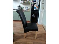 Dining chairs - set of 7