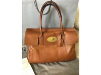 Mulberry Bayswater Oak Handbag Genuine