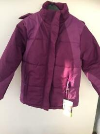 Girls winter jacket age 11/12