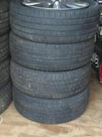 Uniroyal Laredo Tires On Aluminum Rims P245/50R20