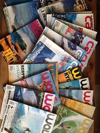 20 surf magazines, various editions