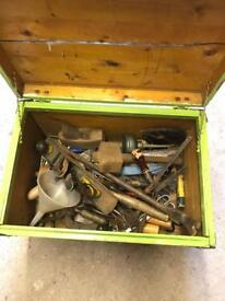 Large Joblot Quality Vintage Tools & Chest