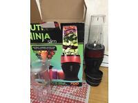 Nutri ninja blender less than a month old