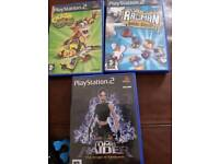 3x PlayStation 2 games