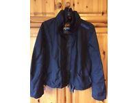 Superdry Jacket – Child's Size Large - Black - Blue Superdry Branding