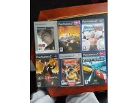 6 PS2 games for £30