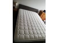 Double mattress 2 months old like new to hard for me good support for bad back