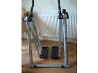 Air Walker cross trainer folds for storage used rarely