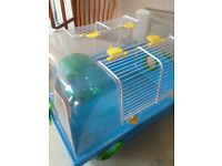 Hamster cage plus extras