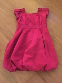 Ted baker pink party dress age 7