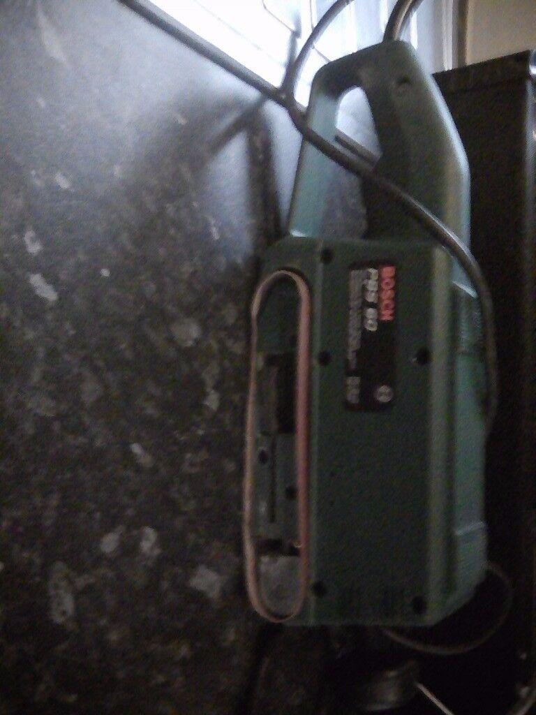 Bosch belt sander