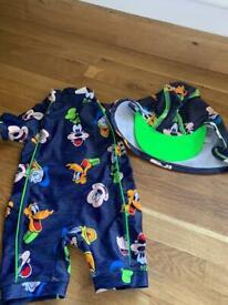 Baby boys 3-6months swimwear