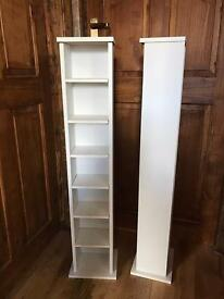 SOLD !!! DVD / CD Towers storage units x 2