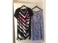 2 size 16 dresses