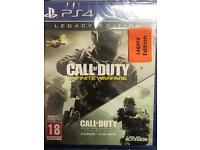 Brand new sealed call of duty infinite warfare legacy edition with dlc