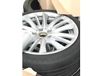 """BMW 5 Series 19"""" Alloys and tyres"""