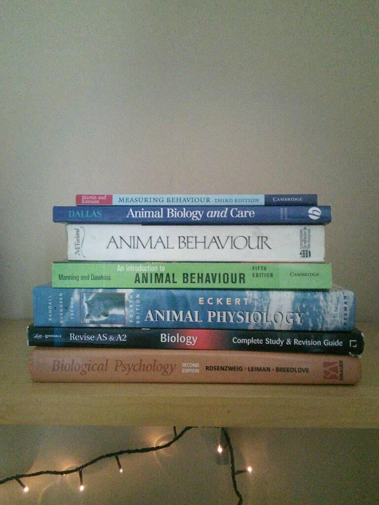 Books for Students: Animal Behaviour & Welfare